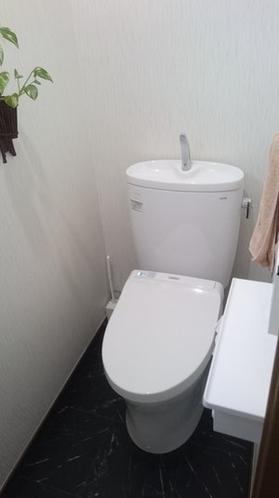 清潔で明るいトイレ