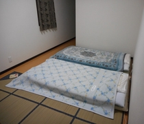modern comfortable room with Japanese style Futon(
