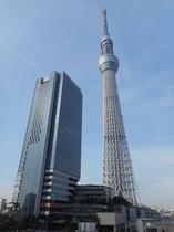 10 min walk to Tokyo SKYTREE at Oshiage station