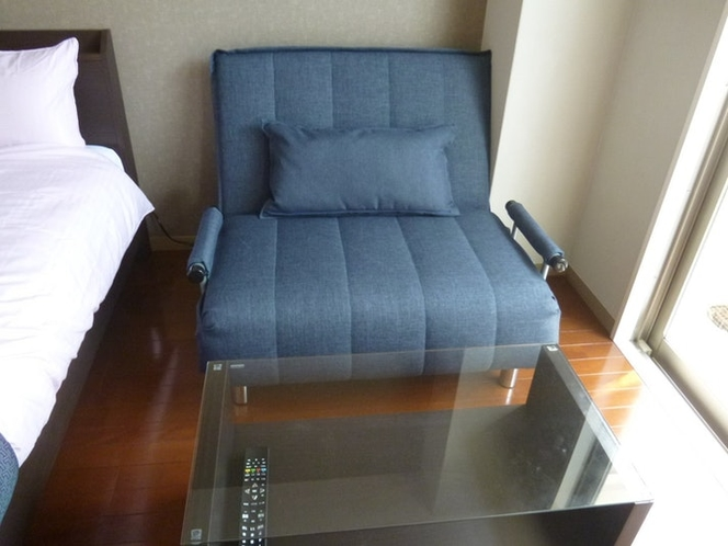 Sofa Bed & Low Table