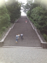 Nearby stairs