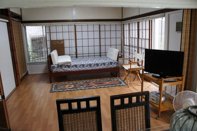 昭和の家の八畳間を今風に