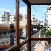 大阪駅方面。