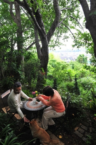 Tea time in The garden