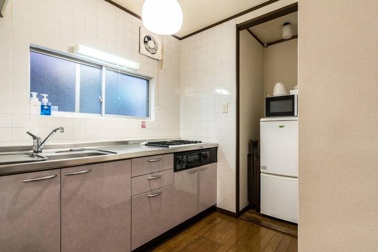 clean kitchen room
