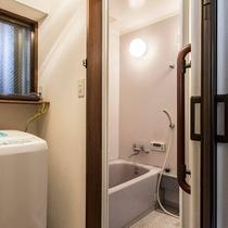 bath room and Washing machine