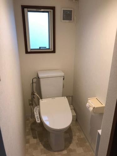 洗浄付暖房便座トイレ