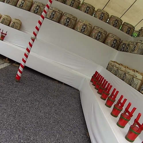 壬生ナギ神社の祭礼
