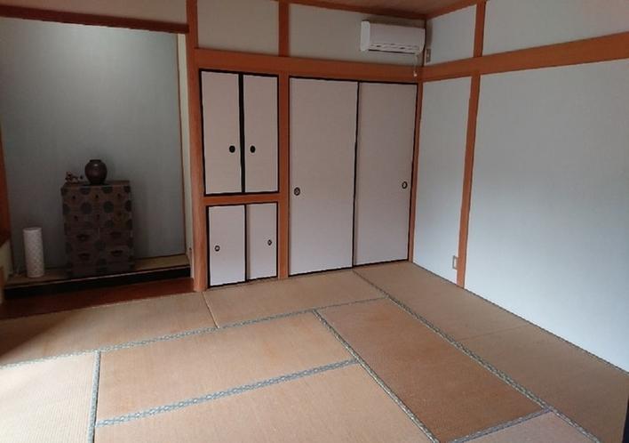 二間続きのうちの10畳和室