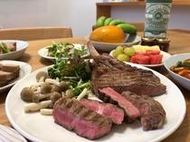 充実のキッチン用品で宮古島食材をみんなでワイワイ調理するのもいいですね♪
