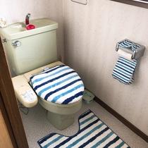 宿泊者専用トイレ(2階)ウォシュレット付きです。