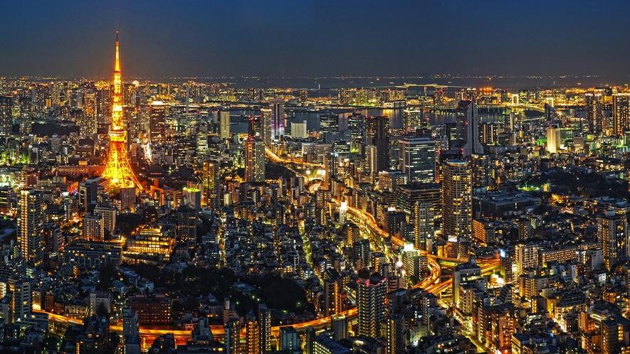 """東京の""""食・観・買・勤""""を存分に楽しめる最高の立地"""