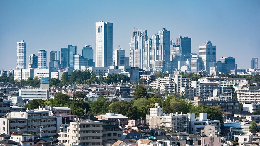 お部屋によっては新宿エリアの眺望をお楽しみいただけます