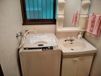 洗面台、洗濯機(有料)