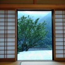 寝室②からの風景