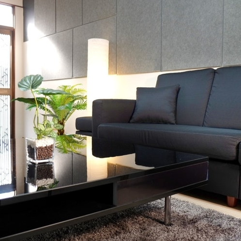living space on the 1st floor relaxation space