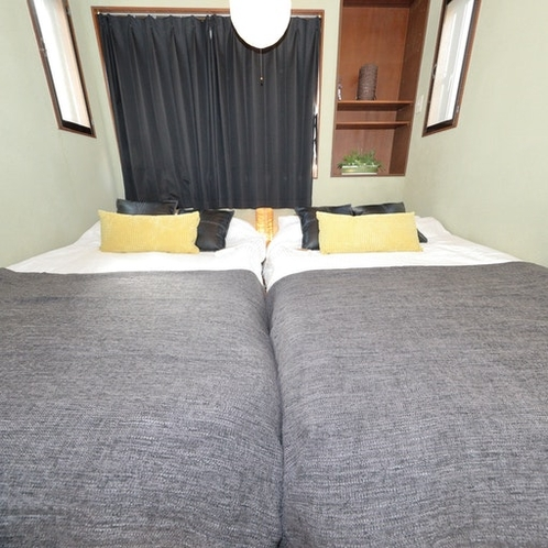 Tatami 畳 bed spaceElectric blankets are available.