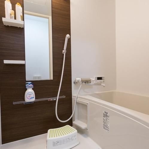 1階浴室は男女共用、2階浴室は女性専用になります。