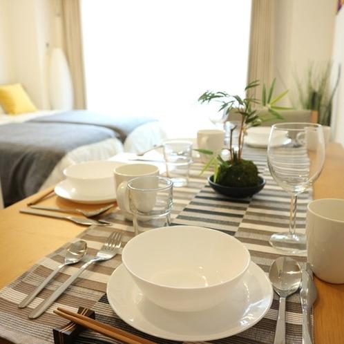 Bedroom、Dining