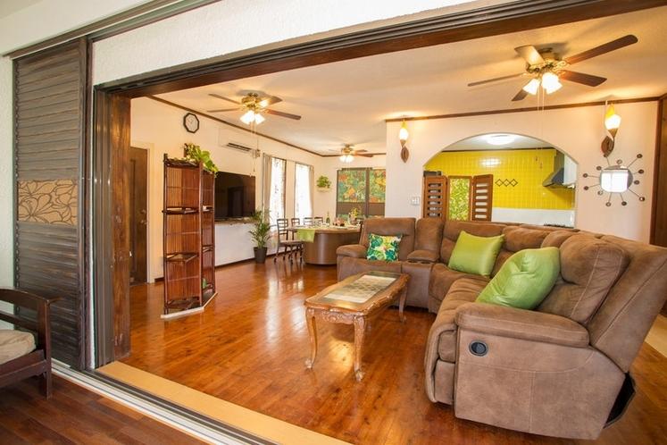 Living Room リビングルーム