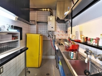 There is also a kitchen  it is convenient for long