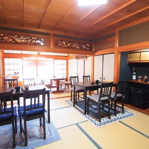 1Fカフェスペース/宿泊者のご利用可能です。