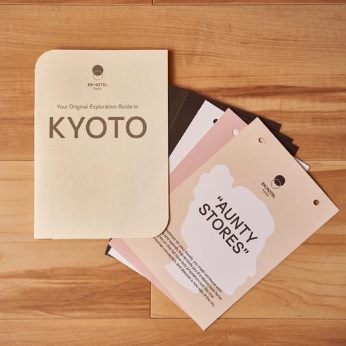 エクスプロレーションカード。組み合わせてオリジナルガイドブックに!
