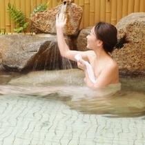 女性露天風呂