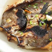 旬の魚料理一例