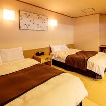 スイートルーム檜扇(ひおうぎ) ベッドルーム
