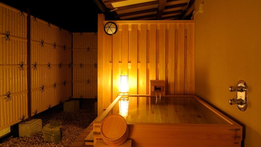 【檜扇(ひおうぎ)】露天風呂付スイートルーム