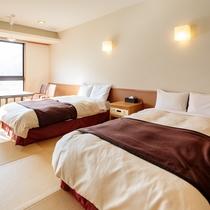 セミルイートルーム牡丹 ベッドルーム