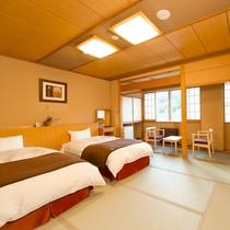和室ツイン ベッドのお部屋