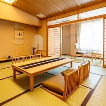 4階の露天風呂付客室 一例