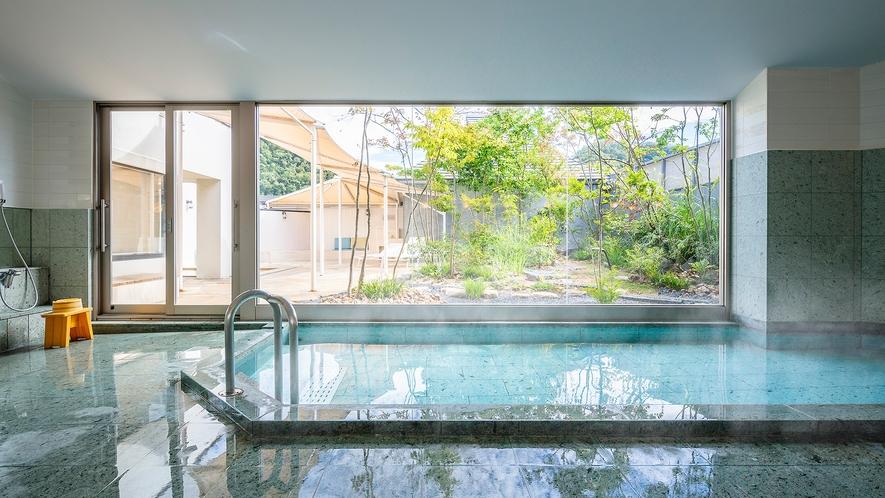 女性大浴場『紅梅の湯』内風呂