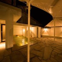 女性大浴場『紅梅の湯』露天風呂