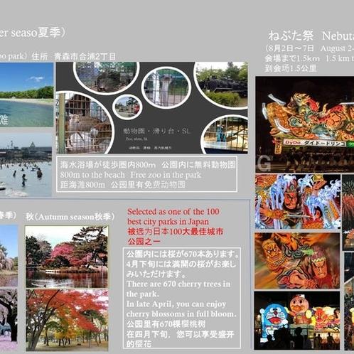 合浦公園800m 春・夏・秋
