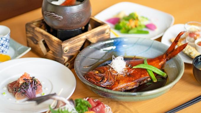 【空室出ました!】直前なのでお一人様2000円引き!金目鯛の煮付けを丸ごと1尾♪伊豆牛も<お部屋食>