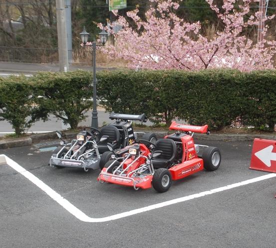 カート・駐車場