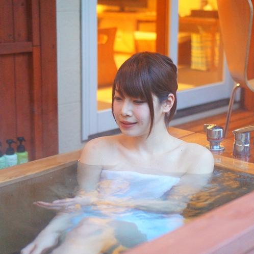 [客室露天_客室露天風呂でゆ〜ったり♪]
