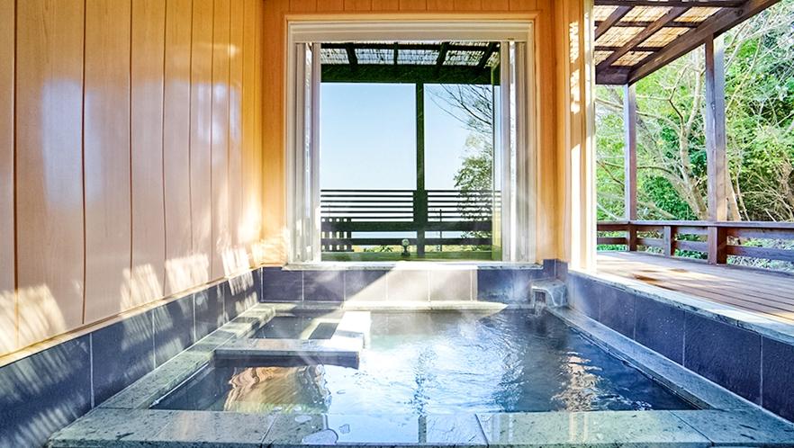 【貸切露天風呂】ご家族でカップルで気兼ねなく伊豆高原温泉をご堪能ください。を