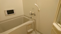 テレビ付きバスルーム
