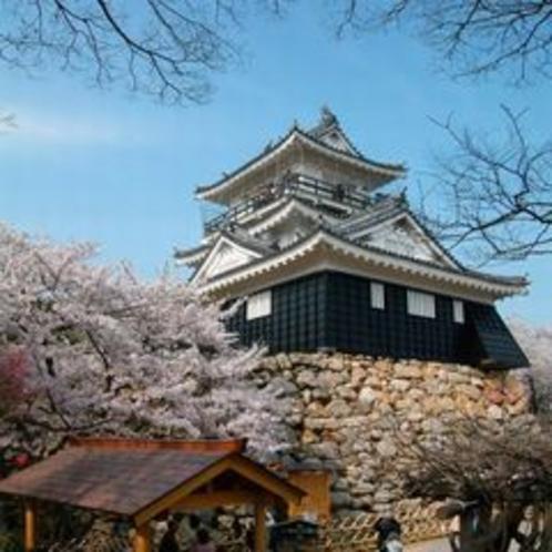 ★浜松城 (別名:出世城)この名前の由来は、この画像をクリック!!