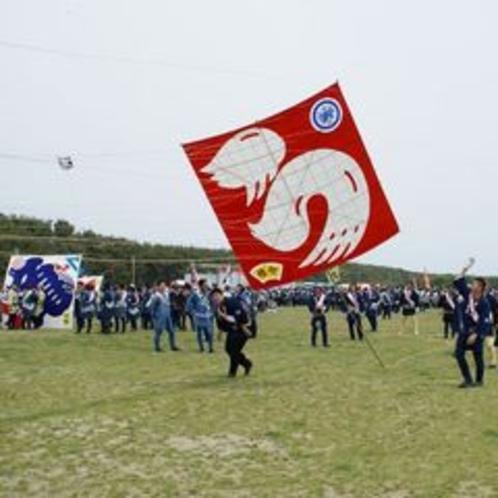 ★浜松祭り 凧揚げ