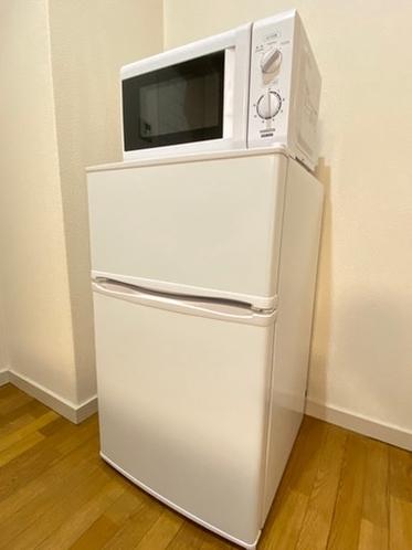 冷凍冷蔵庫・電子レンジ・電気ポット