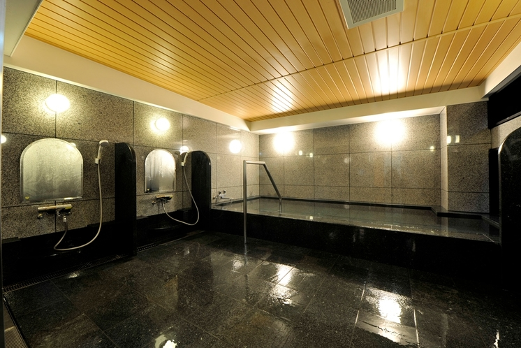 女性浴場(なかめの湯)