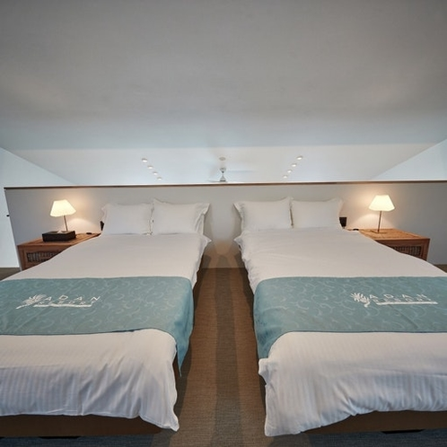 寝室:Bed room View.