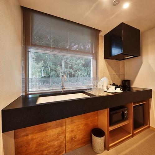 キッチン:Kitchen View.