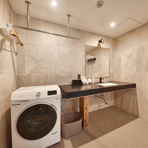 洗面台:Wash basin.