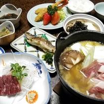 *夕食(一例)